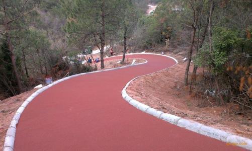 陕西彩色陶瓷防滑路面