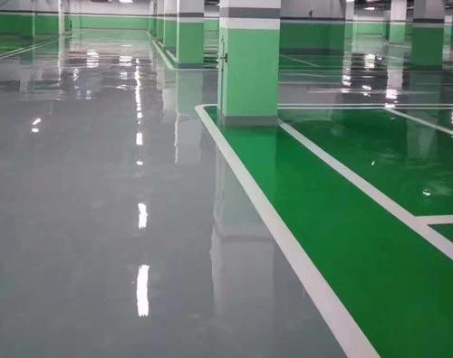 防静电自流平地坪漆需要怎样施工才能达到更好的效果