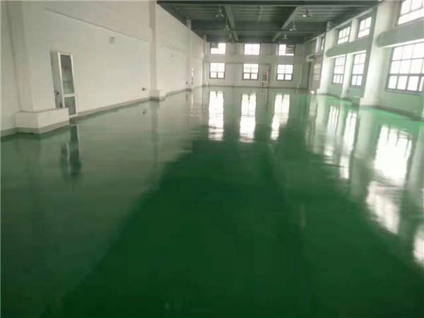 环氧树脂地坪漆的做法陕西环氧树脂地坪漆