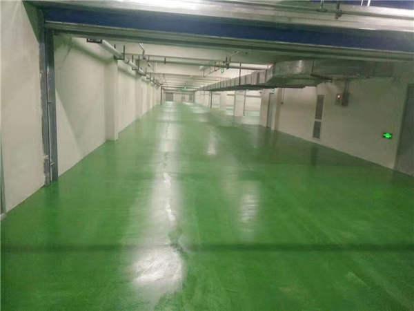 如果遇到陕西环氧树脂地坪漆不干有发黏现象需要怎么处理?