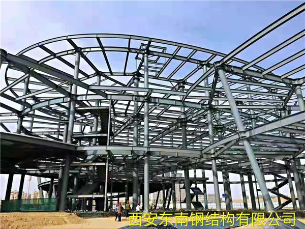 鋼結構工程整體搭建效果圖