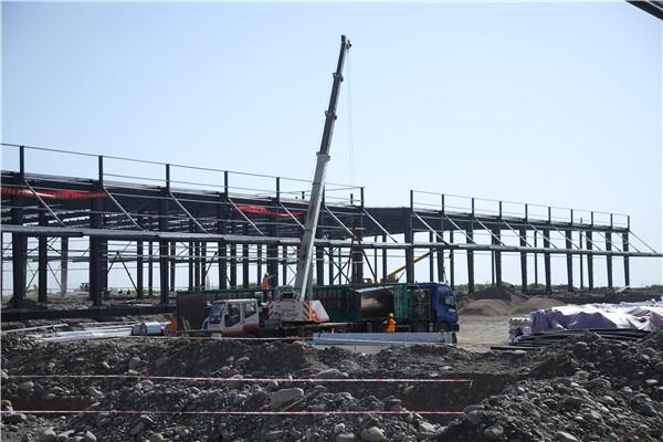 西安鋼結構廠房具體的施工流程是怎樣的?主要有以下4個步驟!