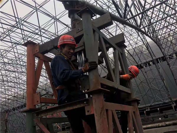西安鋼結構網架安裝工程案例