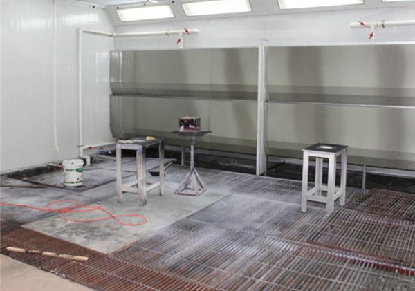 在喷漆房建造中过滤棉有哪些作用呢