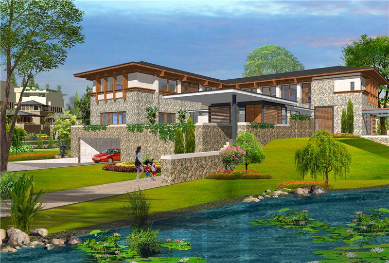 轻钢别墅工程设计