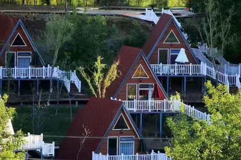 度假别墅案例--西安轻钢房屋设计