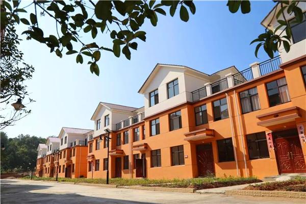 移民安置点-陕西轻钢结构房屋