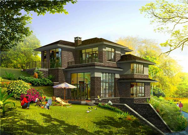 果洛个人自建房--轻钢别墅