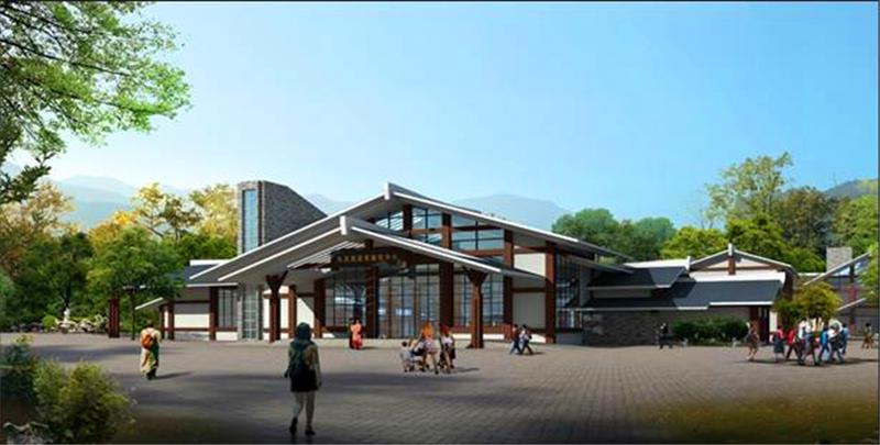 公共设施配套--西安轻钢结构展馆