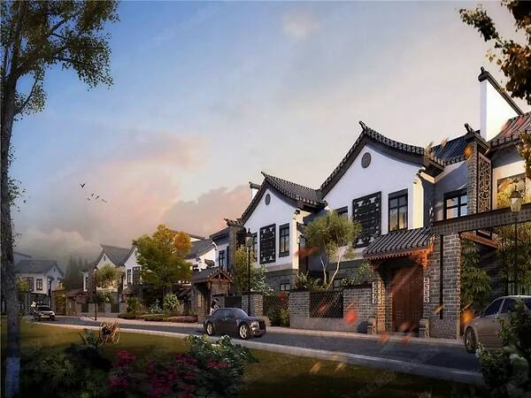 特色小镇--陕西轻钢结构房屋工程