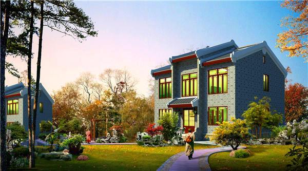 西安轻钢结构别墅