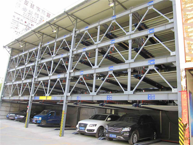 西安钢结构车库安装