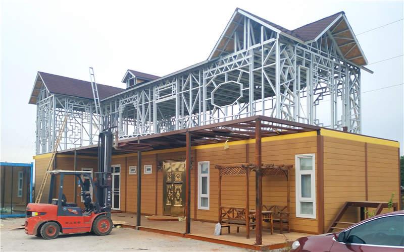 西安轻钢别墅设计安装