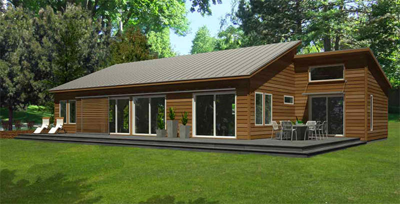 西安景区轻钢房屋设计