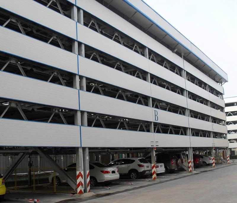 西安钢结构立体车库