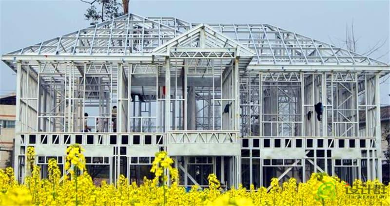 景区功能配套--西安轻钢别墅安装工程