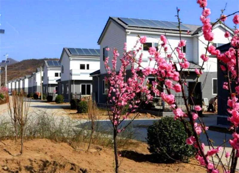 移民搬迁安置点--西安轻钢结构房屋