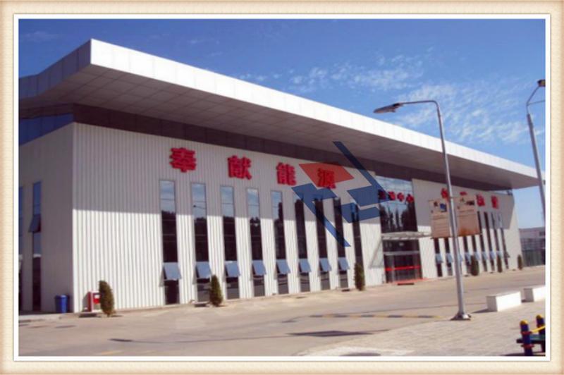 某单位办公楼项目--西安钢结构厂房设计