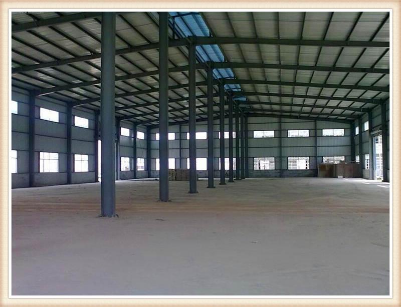 西安工业厂房钢结构加工设计