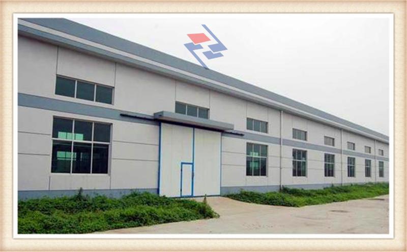 某单位生产车间项目--西安钢结构厂房设计安装