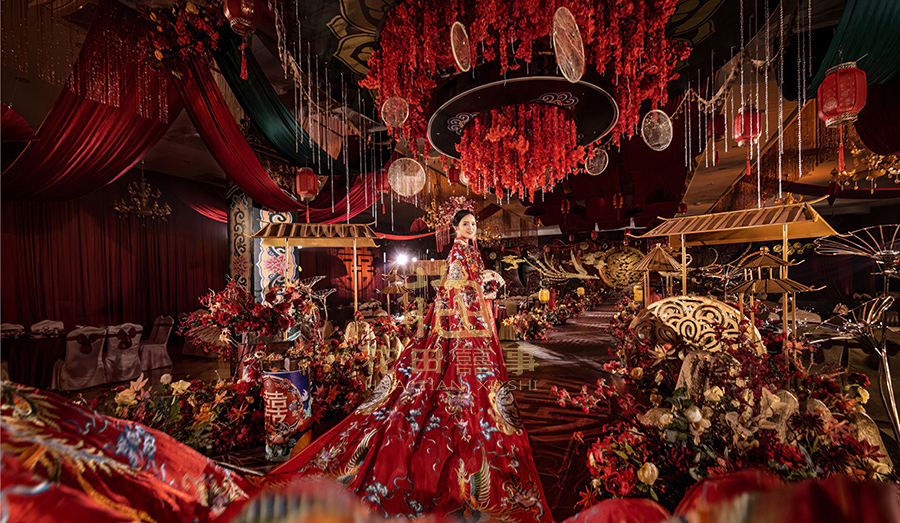兰州传统中式婚礼