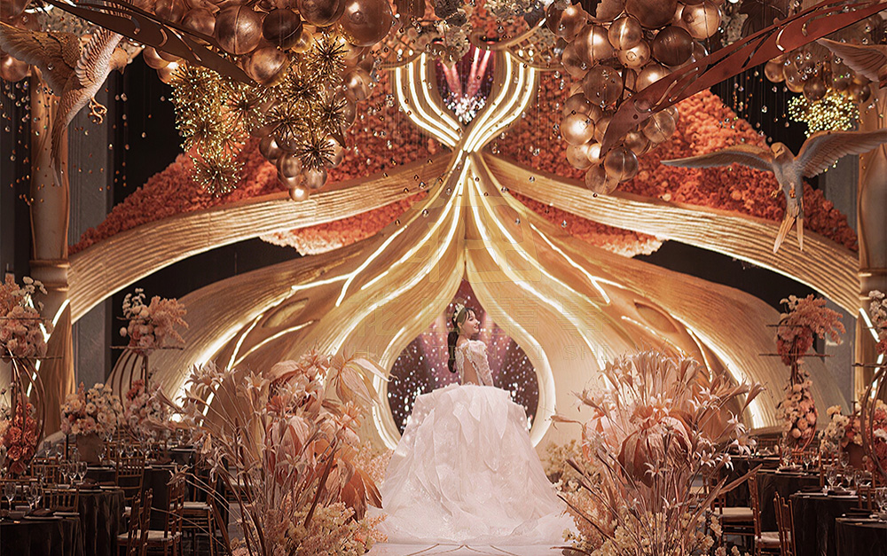 复古主题婚礼