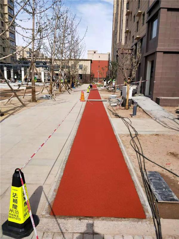 陕西DPDM塑胶地面工程