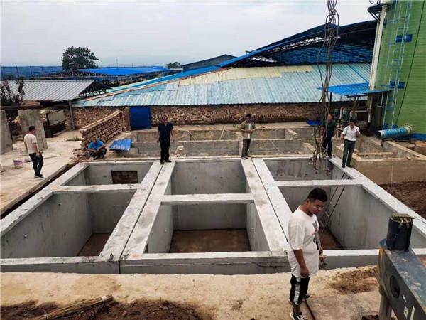 西安钢筋水泥污水处理池施工