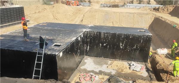 西安钢筋水泥污水处理池价格