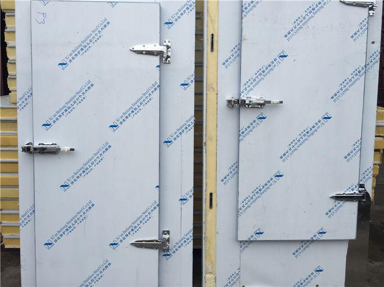 冷库门生产制作的准备工作和方法