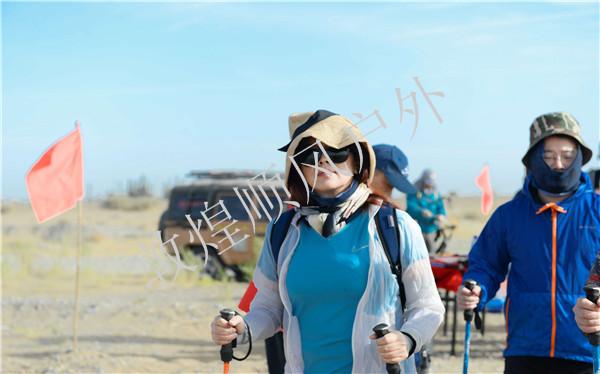 中国平安保险高层沙漠徒步体验