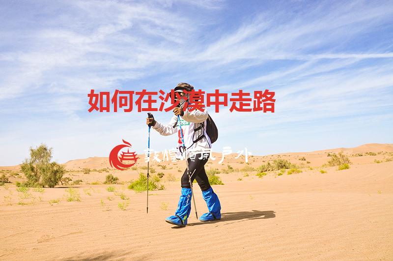 如何在沙漠中走路