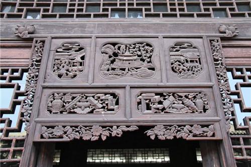 陕西古建筑木雕安装