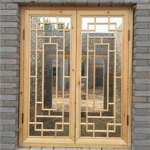 你明白中式仿古建筑的门窗是用铁红漆刷吗?