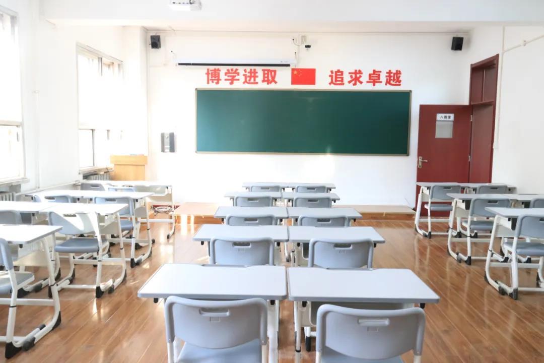 太原醍醐高补培训学校—教室环境