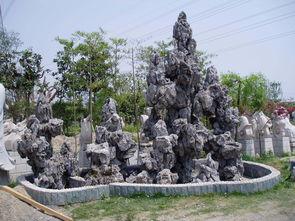 临汾某景区园林假山