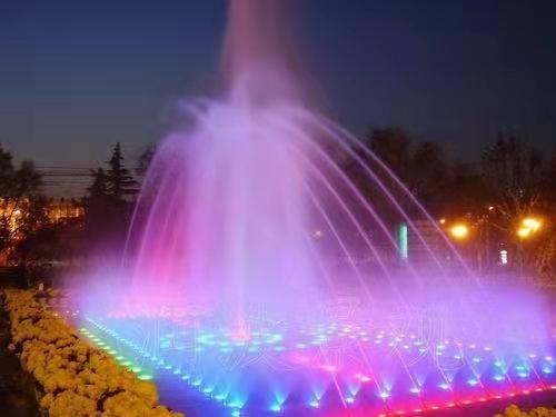 离石某公园喷泉