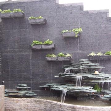 晋中寿阳水幕墙