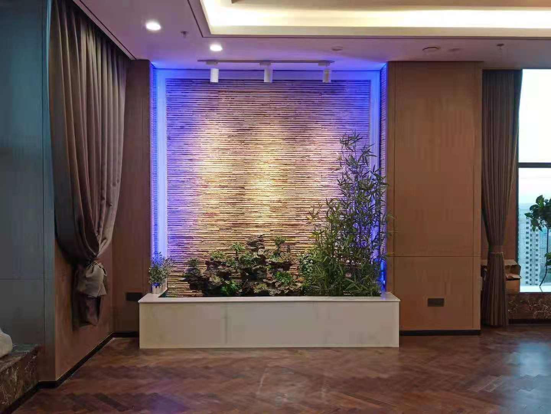 太原东峰路亚佳大厦办公室水幕墙