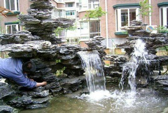 住宅小区假山喷泉