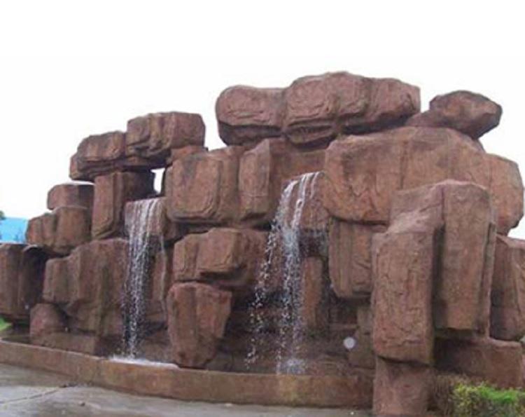 山西假山喷泉