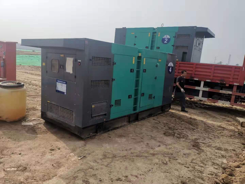 渭南发电机-销售案例