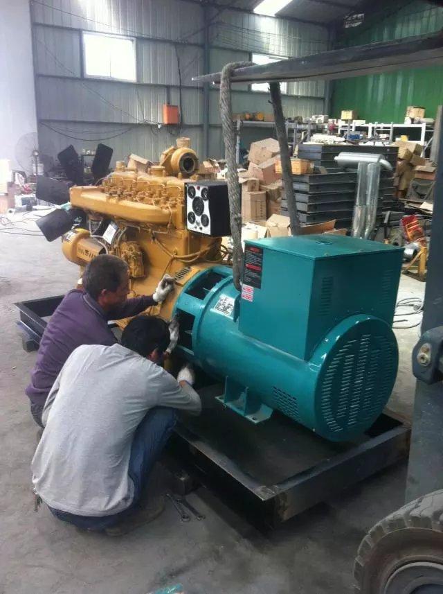 陕西柴油发电机-维修案例