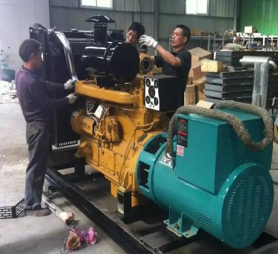 宝鸡柴油发电机-维修案例