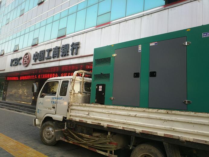 西安发电机租赁案例