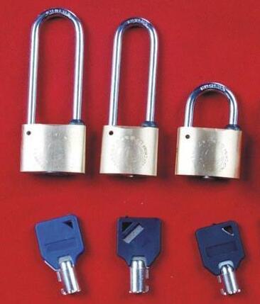 梅花钥匙铜锁