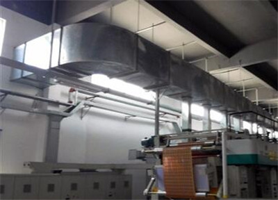 包装间通风管道安装工程