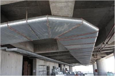郑州通风管道安装案例展示