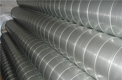 在生产中郑州螺旋风管的质量如何监控?