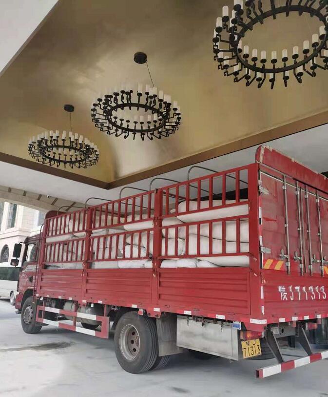 关于西安酒店布草送货以及消毒产品日常